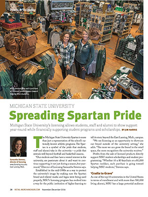 Spreading Spartan Pride Article